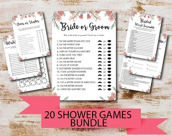 bridal shower games printable over or under games wedding shower games bachelorette party bridal shower games printable