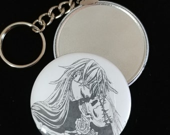 Black Butler The Undertaker Fan Art 225 Key Chain