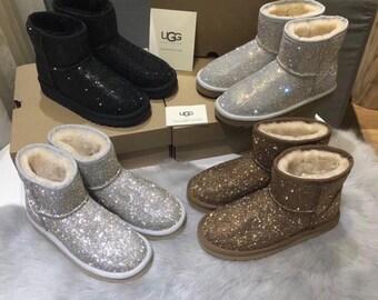 3bf835b33 Crystal Ugg boots