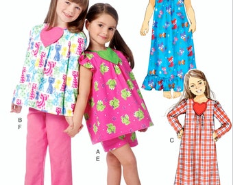 3d6b2e362 Girls pajama pattern
