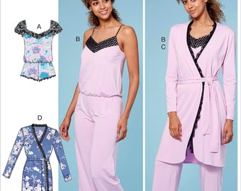7e793f5ca1c7 Sewing Pattern Women s Pajama Jumpsuit Pattern