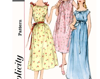 9280b773fa Sewing Pattern Misses  Easy Nightgown Pattern