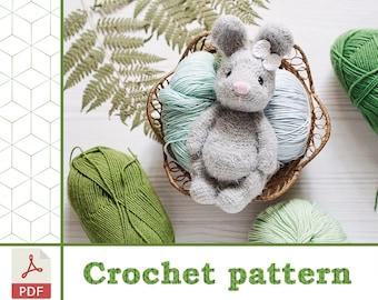 Crochet Bunny - Dutch Rabbit Amigurumi Pattern - Crochet News | 270x340