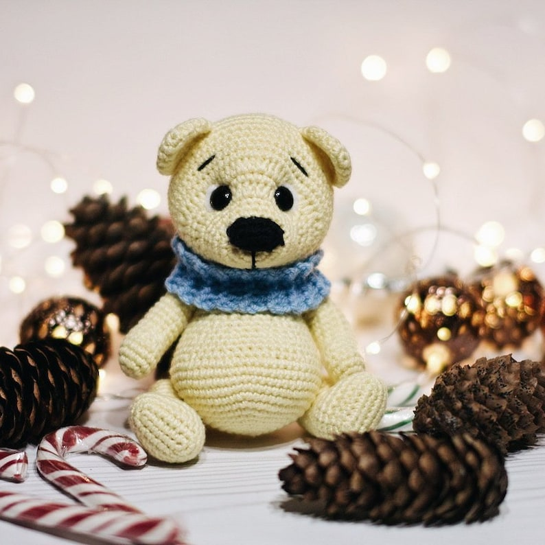 How To Make A Cute Small Crocheted Teddy Bear - DIY Crafts ...   794x794