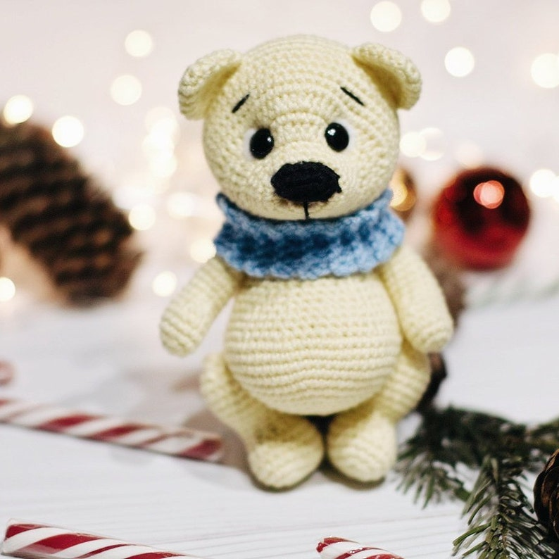How To Make A Cute Small Crocheted Teddy Bear - DIY Crafts ... | 794x794