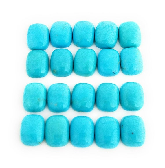 3pcs 100/% Natural Sleeping Beauty Turquoise Drilled Nuggets