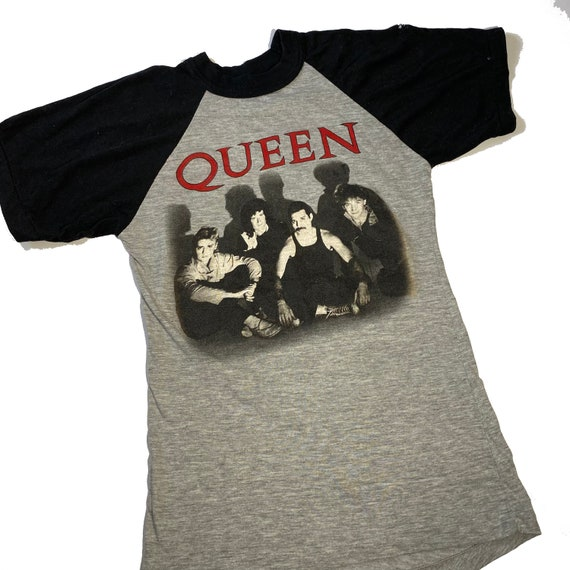 1984 Queen 'The Works' vintage UK Tour t-shirt