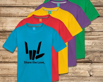 Share The Love Custom Color Youth Shirt by YouTube Stephen Sharer - FAST SHIP!