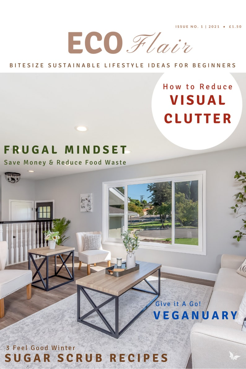 Ecoflair Sustainable Lifestyle for Beginners 10 page emagazine image 0