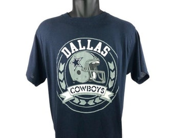 8838e7e65aa3 Vintage 80s Dallas Cowboys Football T Shirt
