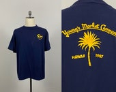 Vintage 1987 Remy Cognac Hawaii Youngs Market Company T shirt XL
