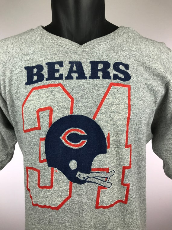 CHICAGO BEARS WALTER PAYTON ***SWEETNESS*** T-SHIRT RETRO FADED