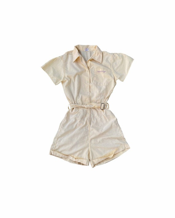 Vintage 50s Moore Sanforized Women's Gym Suit Romp