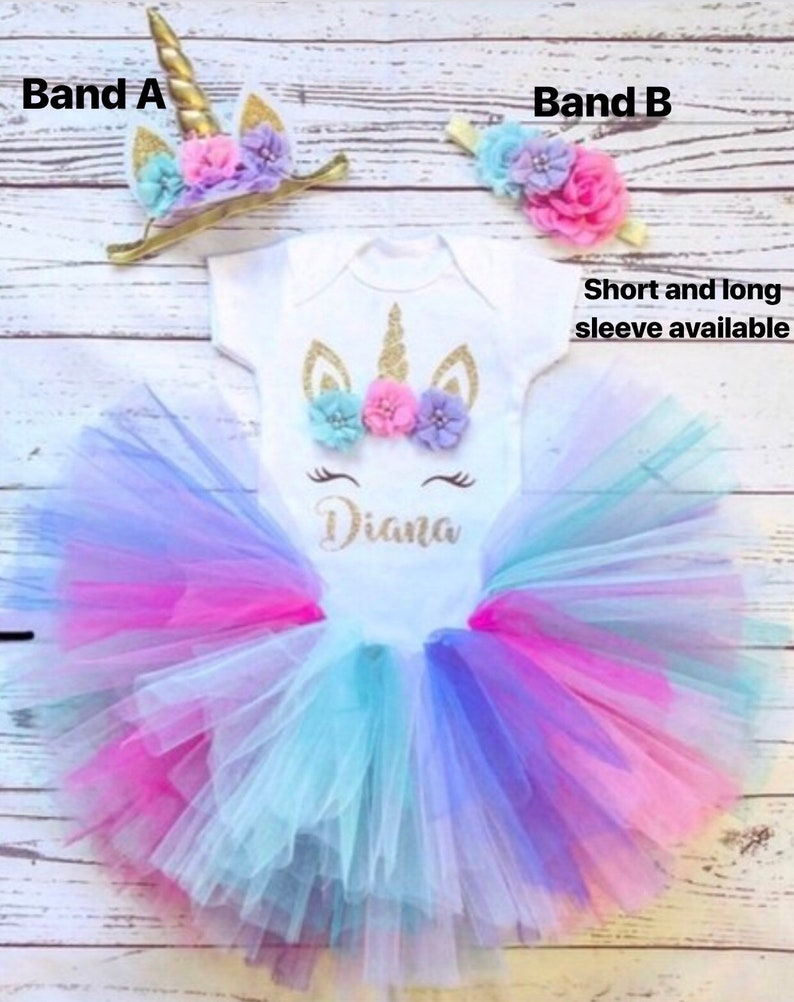 1a17a9c9a Unicorn Birthday outfit first birthday unicorn outfit baby | Etsy