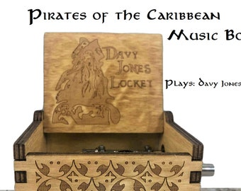 Pirate music box | Etsy