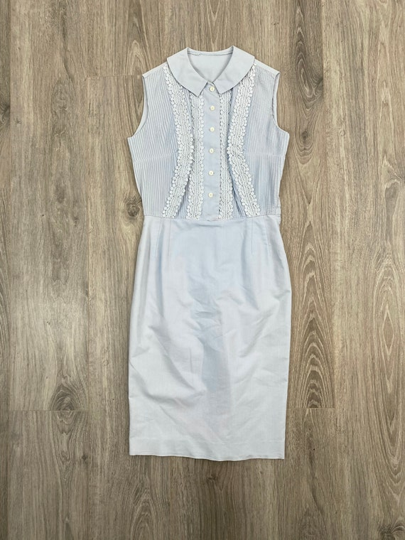 50's Peter Pan Collar Day Dress
