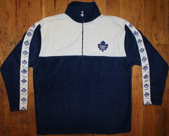 "Vintage NHL Toronto Maple Leafs ""Pinstripe' Fleece"