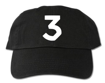 a0806f79b0307 3 Chance The Rapper Unstructured Black Dad Hat