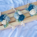 Sola Wood Flower Corsage / Wedding Corsage / Prom Corsage / Funeral Corsage