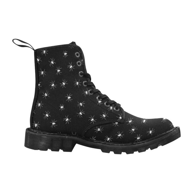 b3a236e4306 little spiders - men's lace-up combat boots