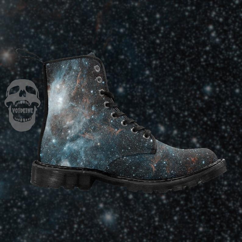 d72b23d3c5e0c Supernova Remnant HBH3 men s lace-up combat boots