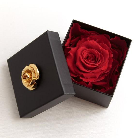 Rosenbox Flowerbox Infinity Rose Haltbar 3 Jahre