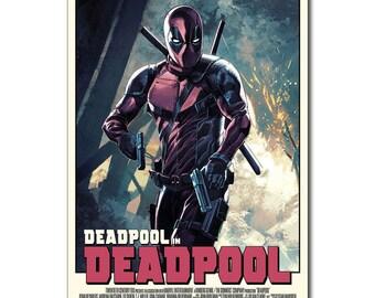 SUCK IT Deadpool Superheroes Movie Silk Poster 13x20 24x36 inches