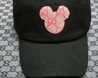 Gucci Mickey Mouse Dad Hat 32e4e258e5f3