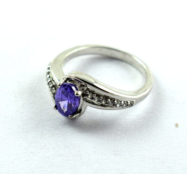Silver Jewelry 925 Sterling Silver Ring Engagement ring Jewelry Amethyst or  Zircon Gemstone Wholesale Ring Handmade Ring Man women Ring