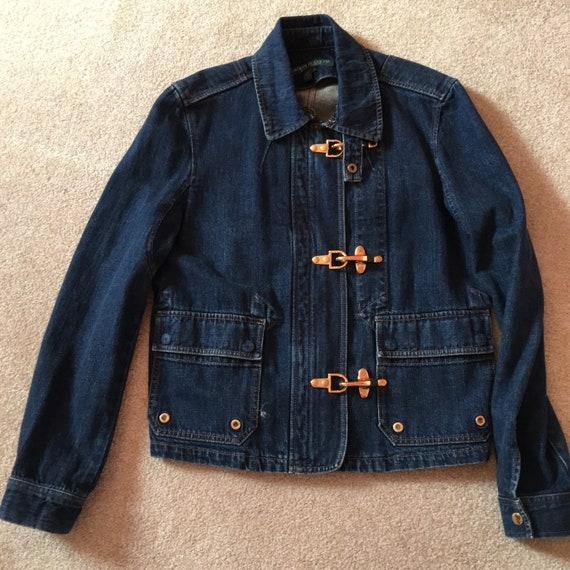 Vintage Ralph Lauren Denim Jacket  and trouser set