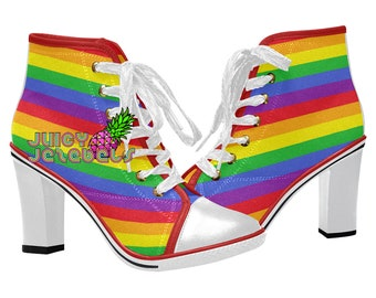 f091b344ef0 TASTE THE RAINBOW Ankle Boots