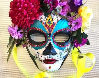 Catrina Mask. Day of the Dead mas. Masquerade mask. 8a83f774dfe