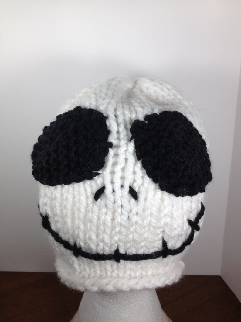 d3273575e3c44 Jack Skellington Knit Hat Nightmare Before Christmas Halloween