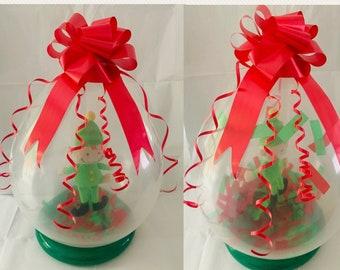Elf Arrival Balloon *DIY BALLOON KIT*  Pop Me Elf Balloon Kit - Naughty Elves Elf Antics 2021 Pinata Balloon Display
