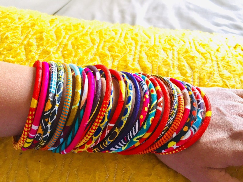 Ask for your mixed. Lots different ethnic bracelets fancy wax and vivid color wood
