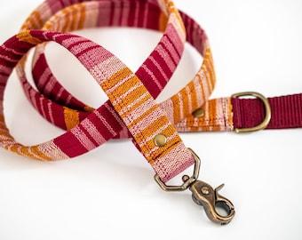 Rosy Boho Guatemalan Dog Leash Mayan >> SUNDOWN