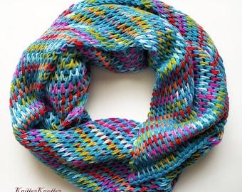 Turquoise Fiesta Shawl   Tunisian crochet pattern   PDF   Tunisian Full Stitch