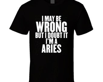 0f6e0695a956 Aries t shirt   Etsy