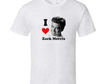 53dfa17ee7c I Love Zack Morris Mens T Shirt
