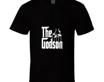 Funny godson shirt | Etsy