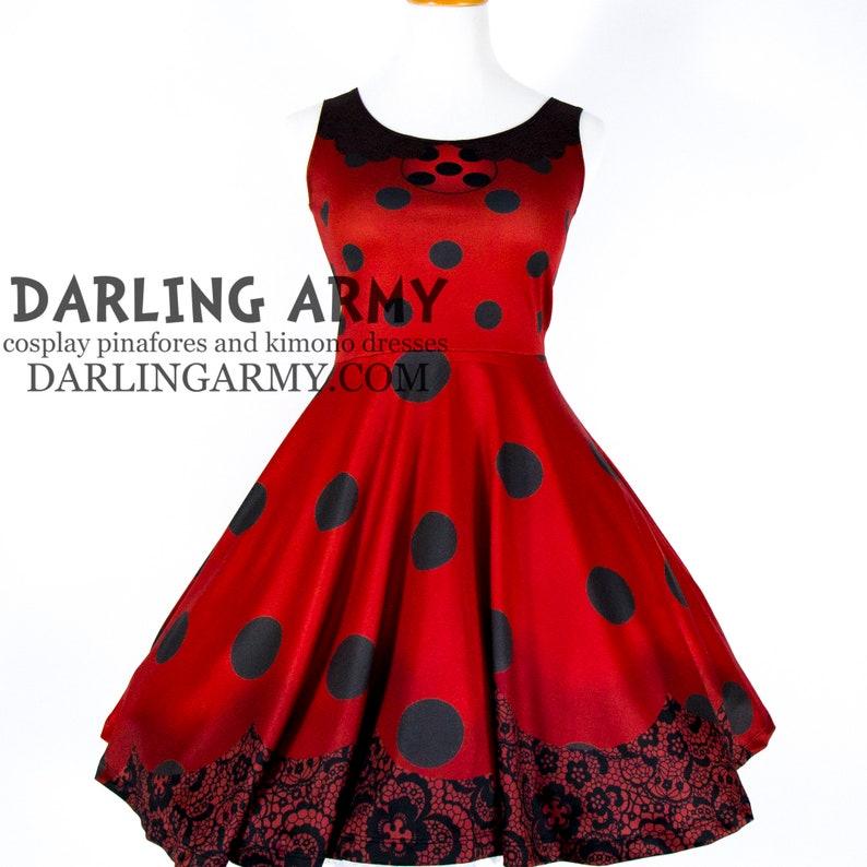 Miss Miraculous Ladybug Cosplay Dress