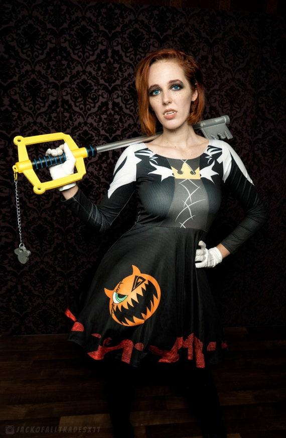 Halloween Town Vampire Sora Cosplay Dress Etsy
