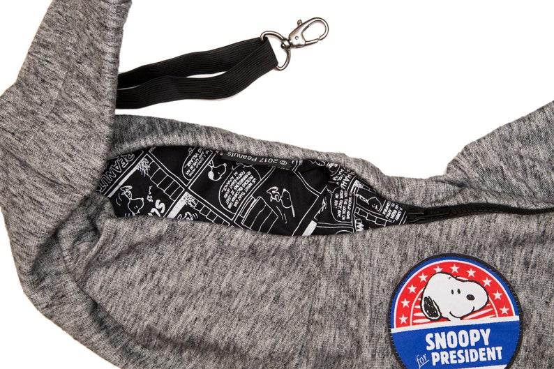 Pet Tote Dog Bag Pet Bag Sling Bag for Dogs Pet Sling Carrier Cat Sling Bag Snoopy Pet Tote Carrier, Dog Toy Carrier Pet Carrier