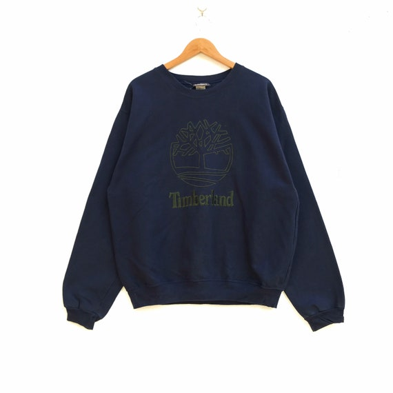 Vtg TIMBERLAND Embroidery Logo Pullover Sweatshirt