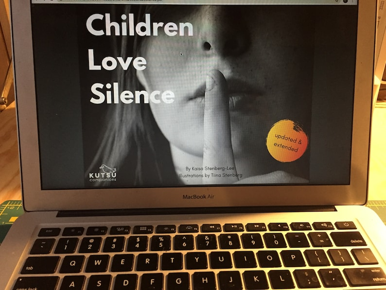 Children Love Silence a Printable Resource image 0