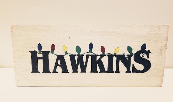 Hawkins (Stranger Things) Wood Decor