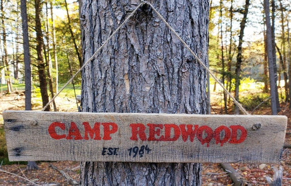 AHS 84 Wood Sign