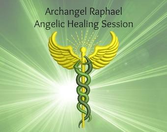 Heart Chakra Anahata Angelic Healing Session Archangel Raphael, emotional healing