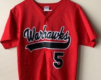 ea524c7d251 Embroidered Warhawks baseball jersey