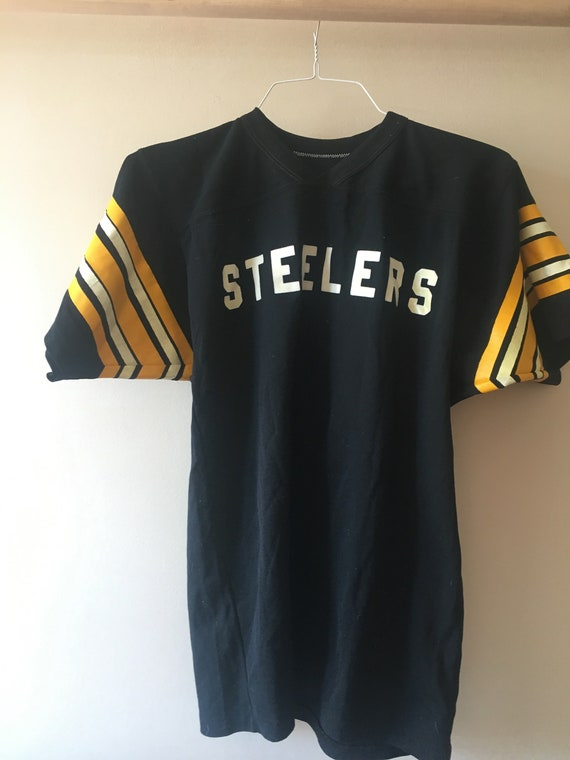 87d6499a9 True vintage Pittsburgh Steelers shirt